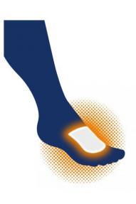 Inserto riscaldante per scarpe Therm-ic