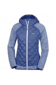 Women fleece jacket flis Columbia Techy Hybrid