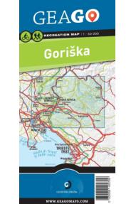 Mappa per ricreazione GeaGo regione di Gorizia 1:50 000 (carta)