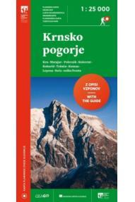 Map of Krnsko pogorje 1:25 000