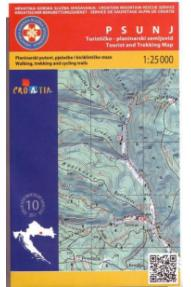 Landkarte HGSS Psunj 10