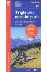 Map Triglav national park 1:50 000 (2018)