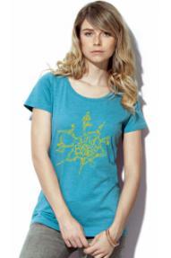 Ženska majica Find Your Balance Hybrant 3.0