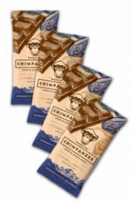 Set energijska ploščica Chimpanzee Chocolate date 4 za 3
