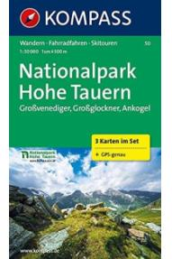 Mappa Kompass National Park Hohe Tauern 50- 1:50.000