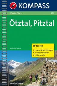 Wander- und Touristenführer Kompass Otztal- Pitztal 902