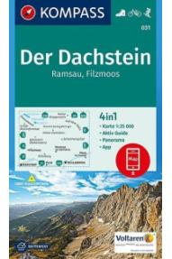 Landkarte Kompass Der Dachstein, Ramsau, Filzmoos 031- 1:25.000