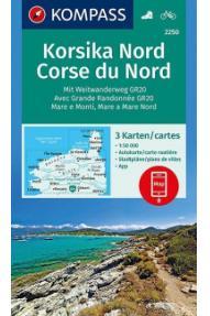 Kompass Corsica North 2250- 1:50.000