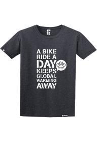 Muška majica kratkih rukava Kibuba Bike Ride 2.0