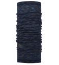 Allzweck-Bandana Buff Lightweight Merino Wool Denim Multi Stripes