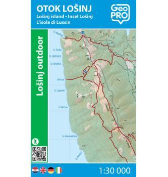 Zemljevid GeoPRO Otok Lošinj