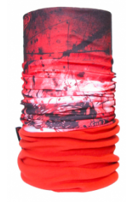 Fascia multiuso 4Fun Polartec Drakkar red