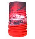 Multifunktions-Kopfbedeckung 4Fun Polartec Drakkar red