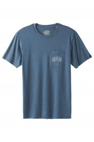 Herren T-Shirt Prana Hollis Pocket