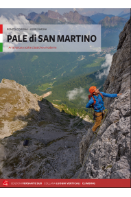 Selected classic and modern climbing routes Pale di San Martino