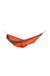 Ticket To The Moon Orange-Dark Grey single hammock