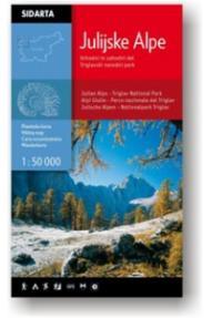 Mappa Alpi Giulie 1:50.000