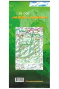 Map of Jalovec and Mangart - 1:25.000