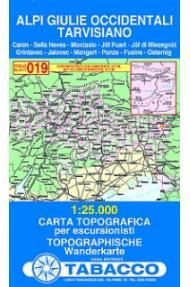 019 Alpi Giulie Occidentali, Tarvisiano - Tabacco