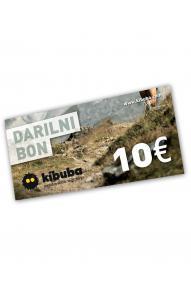 Gift voucher Kibuba for 10 EUR