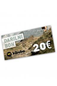 Gift voucher Kibuba for 20 EUR