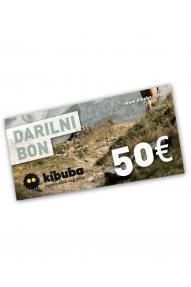 Gift voucher Kibuba for 50 EUR