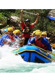 Rafting ''Ta dolga'' (Soča)