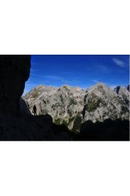 Vie del auricorno nella parete nord del Trecorno