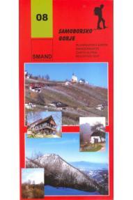 Mappa Smand 08 Samoborsko gorje