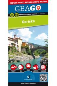 Mappa GeaGo Regione Goriška 1:50.000